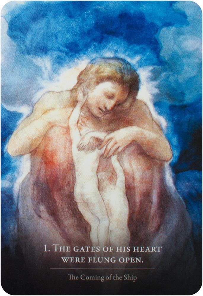 Tarotshop Kahlil Gibran S The Prophet An Oracle Card Set