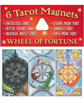 Bild på Tarotmagneter: Wheel of Fortune (lyckans hjul)