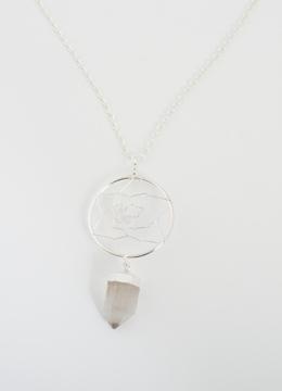 Bild på Drömfångarhänge: bergkristallspets
