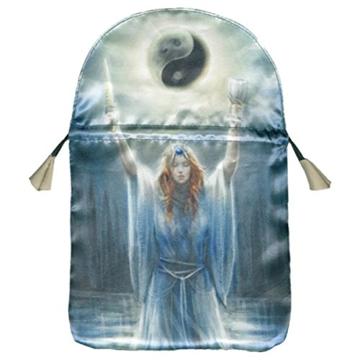 """Bild på Printed satin """"Sacred Priestess"""""""