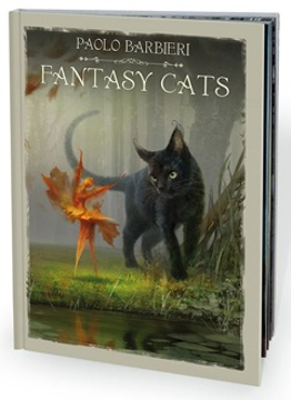 Bild på Fantasy Cats - by Paolo Barbieri - book
