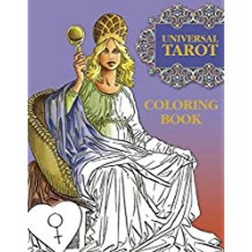 Bild på Color your universal tarot book