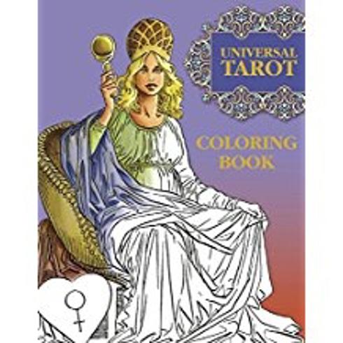 Bild på Color your universal tarot book