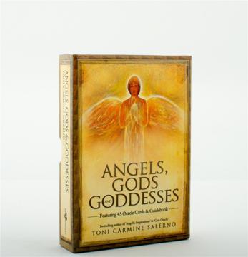 Bild på Angels, Gods & Goddesses : Oracle Cards