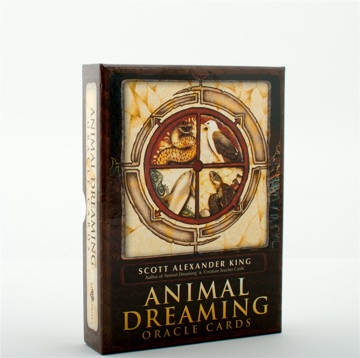 Bild på Animal Dreaming Oracle (Featuring 45 Cards & 132 Page Guidebook) (Deck)