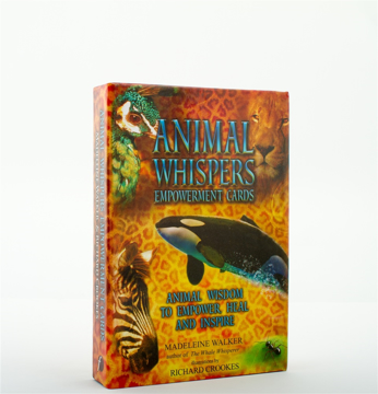Bild på Animal Whispers Empowerment Cards: Animal Wisdom to Empower, Heal and Inspire