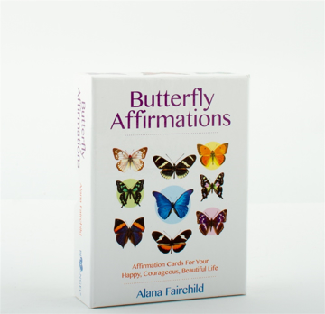 Bild på Butterfly Affirmations : Affirmation Cards For Your Happy, Courageous, Beautiful Life