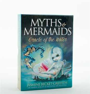 Bild på MYTHS AND MERMAIDS: Oracle Of The Water (44 cards & guidebook; boxed)