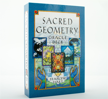Bild på Sacred Geometry Oracle Deck (Book & 64 Full-Color Cards; Boxed)