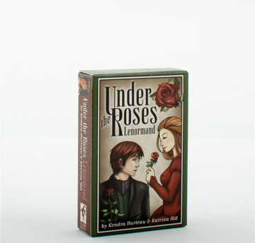 Bild på Under the Roses Lenormand (40-card deck & instruction booklet)