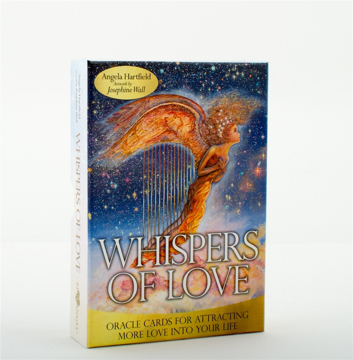 Bild på WHISPERS OF LOVE: Oracle Cards For Attracting More Love Into Your Life (deck & guidebook)