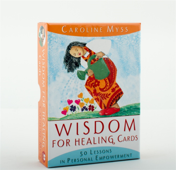 Bild på Wisdom for healing cards - 50 lessons in personal empowerment