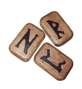 Bild på Wooden Runes (deluxe)