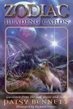 Bild på Zodiac Reading Cards : Guidance From the Sun, Moon and Stars