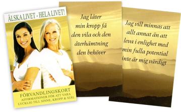 Bild på Älska livet : Hela livet (Förvandlingskort 40 st)