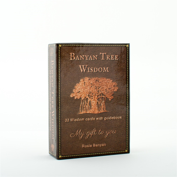 Bild på Banyan tree wisdom cards