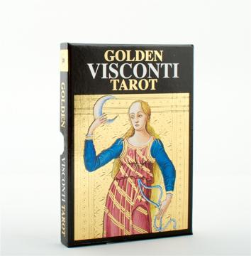 Bild på Golden Visconti Tarot (Grand Trumps)