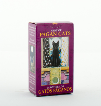 Bild på Mini Tarot - Pagan Cats