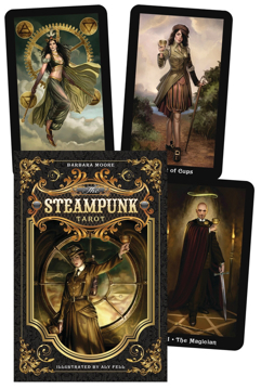 Bild på The Steampunk Tarot Boxed Kit