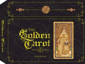 Bild på Golden tarot - the visconti-sforza deck