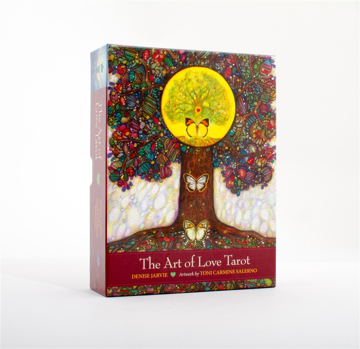 Bild på Art Of Love Tarot : Illuminating the Creative Heart