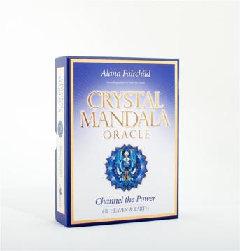 Bild på Crystal Mandala Oracle : Channel the Power of Heaven & Earth