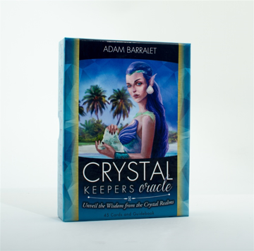 Bild på Crystal Keepers Oracle : Unveil the Widom From the Crystal Realms