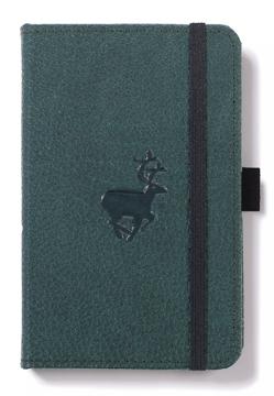 Bild på Dingbats* Wildlife A6 Pocket Green Deer Notebook - Lined