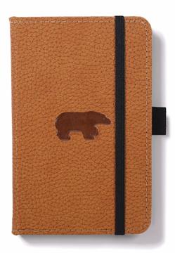 Bild på Dingbats* Wildlife A6 Pocket Brown Bear Notebook - Lined