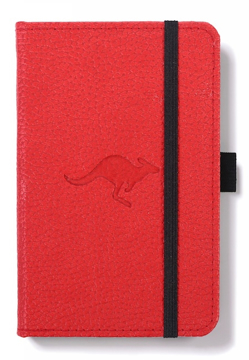 Bild på Dingbats* Wildlife A6 Pocket Red Kangaroo Notebook - Graph