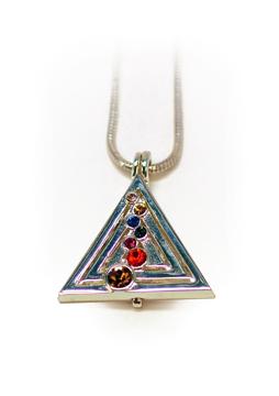 Bild på Hängsmycke : Pyramid Silver