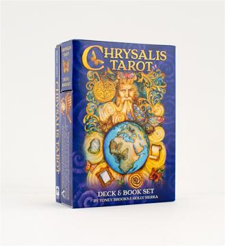 Bild på Chrysalis Tarot Dk/Bk Set