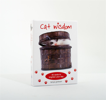 Bild på Cat Wisdom Cards New Edition : 45 Cards to Brighten Your Day