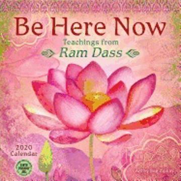 Bild på Be Here Now Calendar 2020 : Teachings from Ram Dass