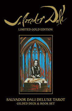 Bild på Salvador Dali Deluxe Tarot: Gilded Deck & Book Set