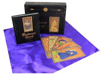 Bild på Gyllene tarot: Visconti-Sforzakortleken