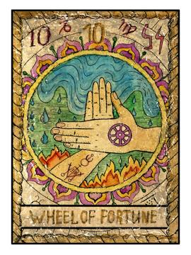 Mystic Wheel of Fortune