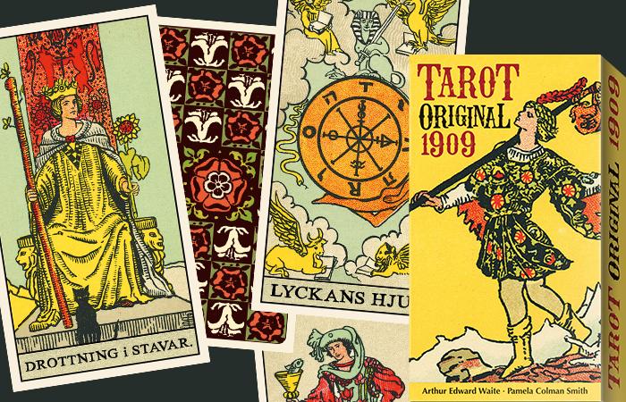 Tarot original 1909 på svenska